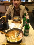 Lunch with my friend Wei. Of course i need to try Taiwan Beer!